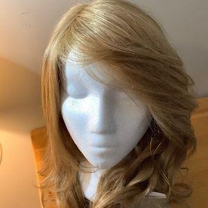 Jon Renau Remy Human Hair Blonde Wig. NEW.
